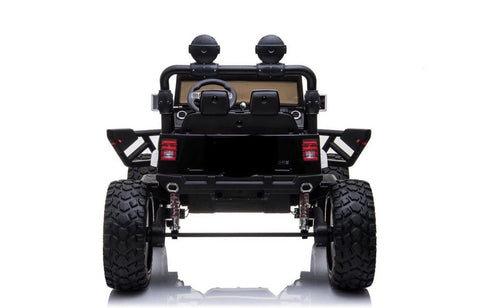 Image of 4x4 Lifted Kids Jeep with Bluetooth and Parental Remote