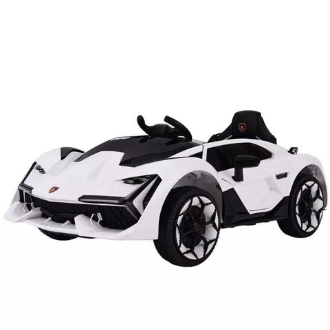 Lambo Style Ride on Car with Parental Remote Control 12V | Red - Elegant Electronix