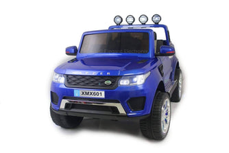Land Rover with Touch Screen RC Electric Ride on Car with Parental Remote Control | Blue