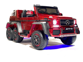 Licensed Mercedes Benz AMG G63 6x6 Truck with Parental Remote Control