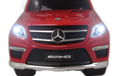 Licensed Mercedes Benz Push Ride on Cars | Red - Elegant Electronix