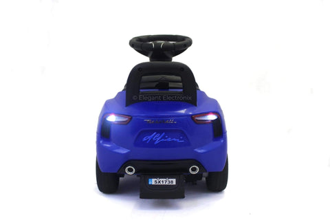 Maserati 6V Electric Push-Car | Blue - Elegant Electronix