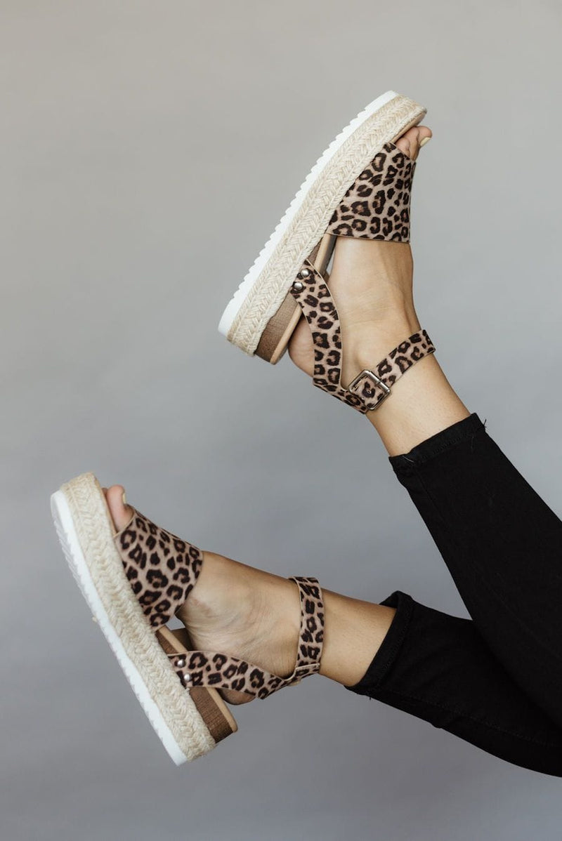 Topic-S Sandals - Leopard