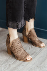 Caris-24 Heels - Brown