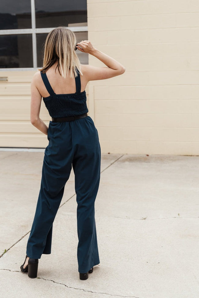 Chaos Jumpsuit - Dark Teal