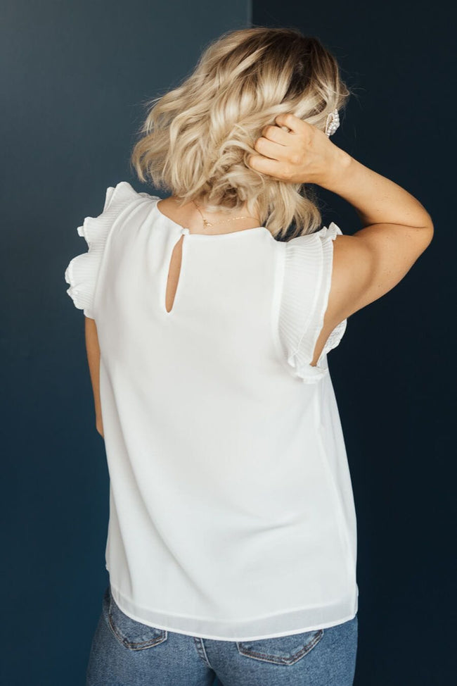 All Here Blouse - Off White