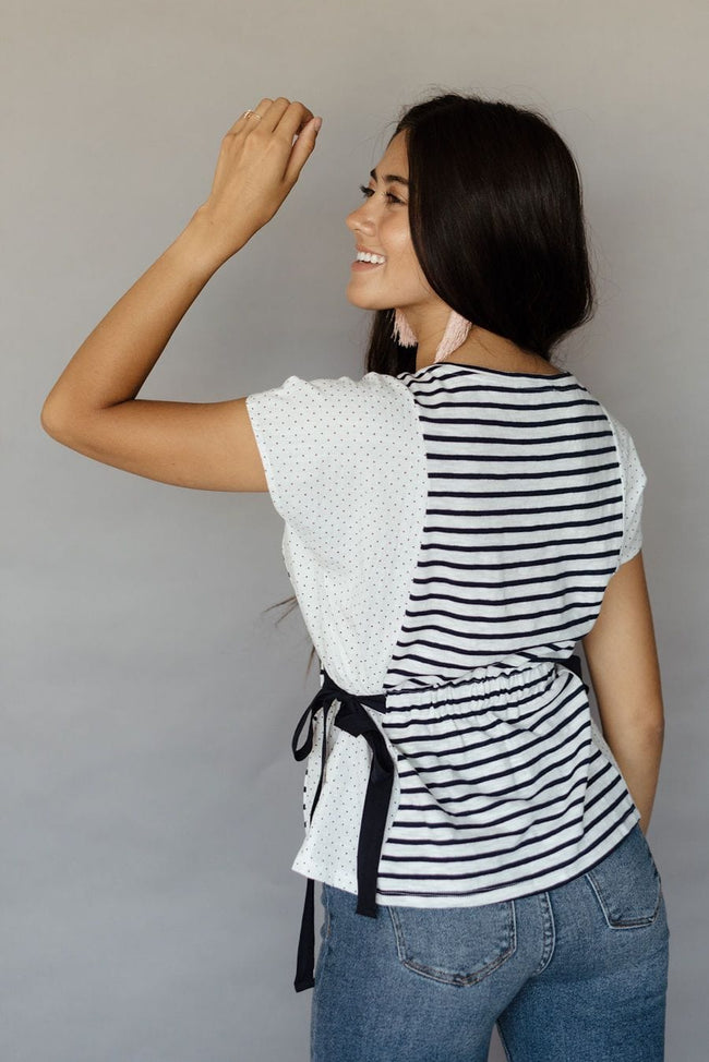 Intro Stripe Blouse