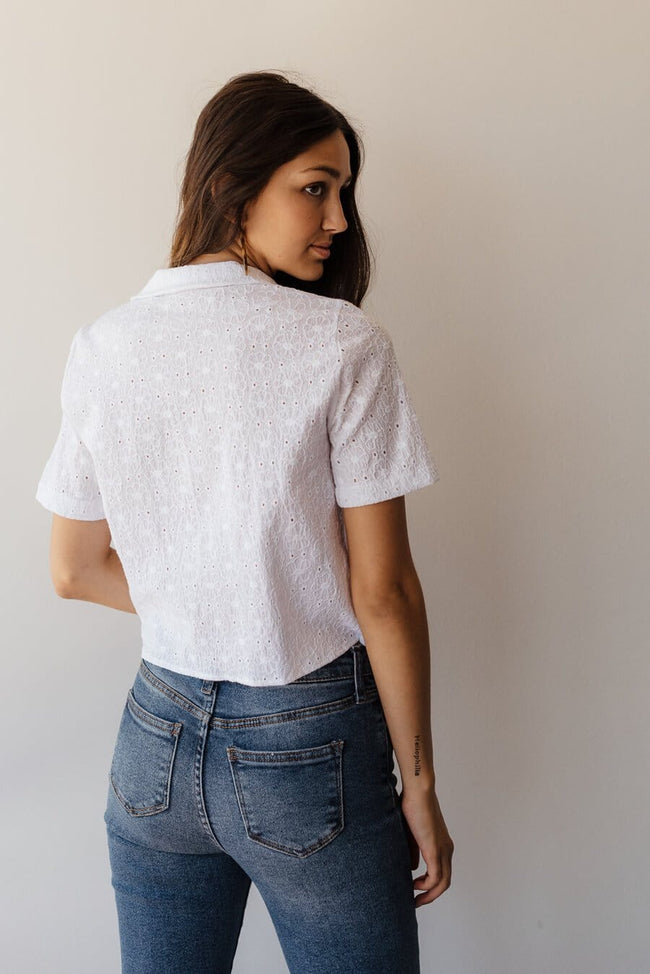 Sadie Top - White