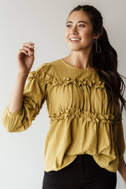 Charlie Ruffle Blouse