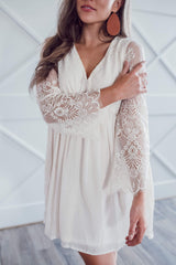 Bingham Lace Dress - Cream