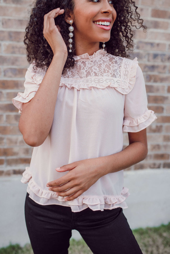 Enchanted Blouse - Mauve