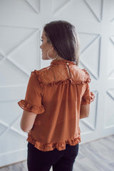 Enchanted Blouse - Rust