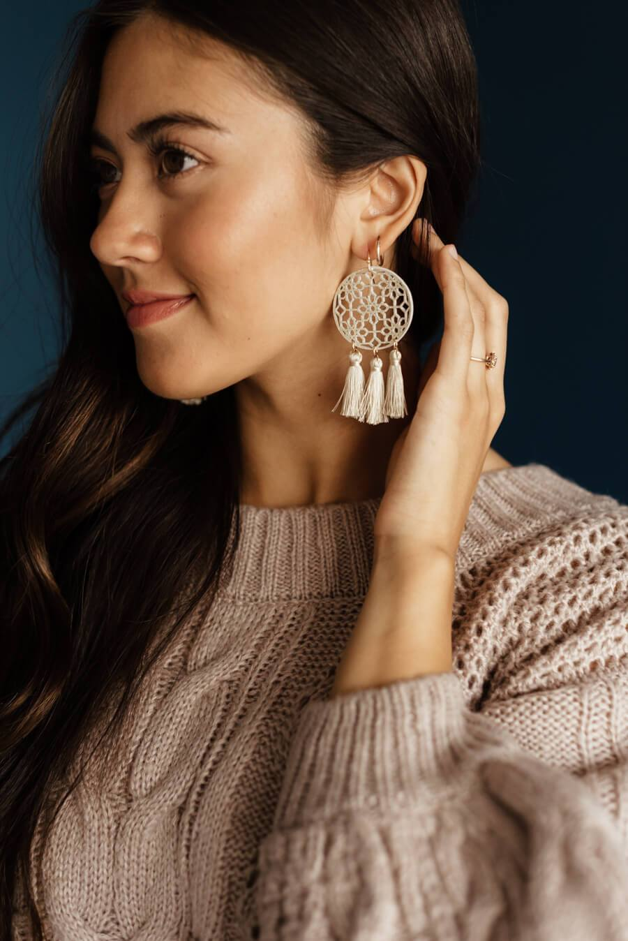 Colette Tassel Earrings