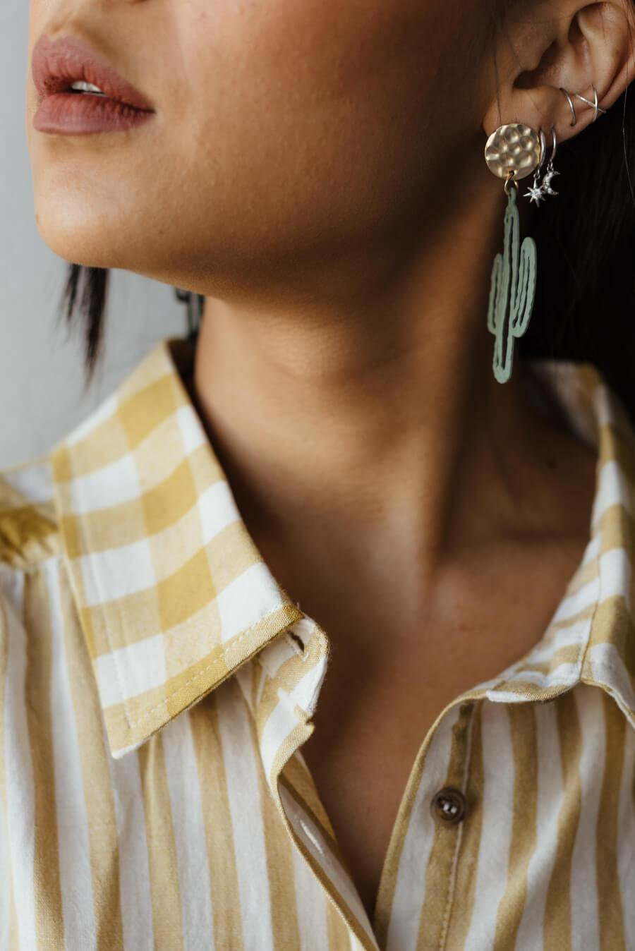 Plato Cacti Earrings