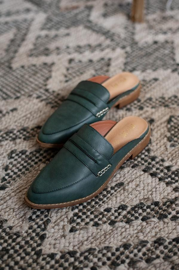 Faroe Leather Mules
