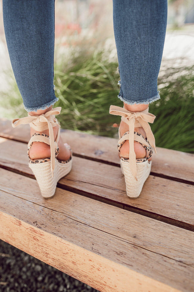 Marble Espadrille Wedges