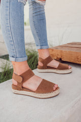 Valley Espadrille Leather Sandals