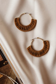 Jocilynn Hoop Earrings