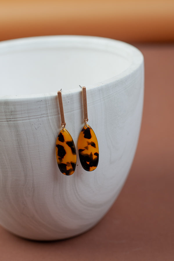 Tess Tortoise Earrings