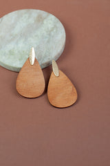 Woodwork Earrings