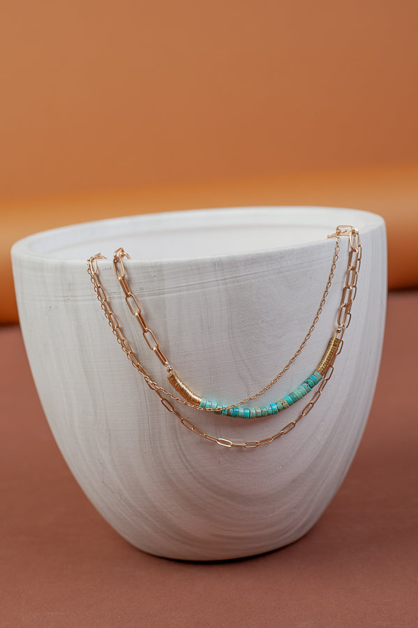 Taken Layered Necklace