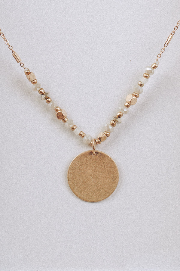 Mae Coin Necklace
