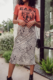 Fortune Leopard Skirt