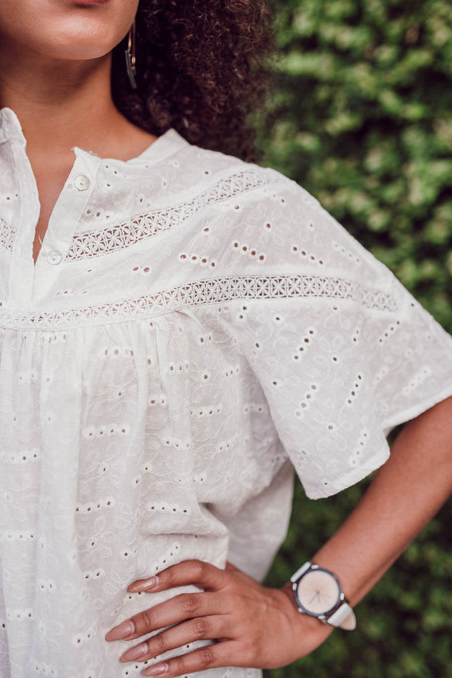 Reed Eyelet Blouse