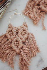 Ellie Macrame Earrings