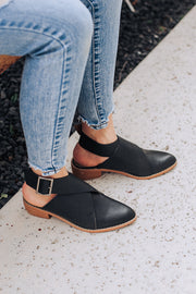 Fran Leather Booties