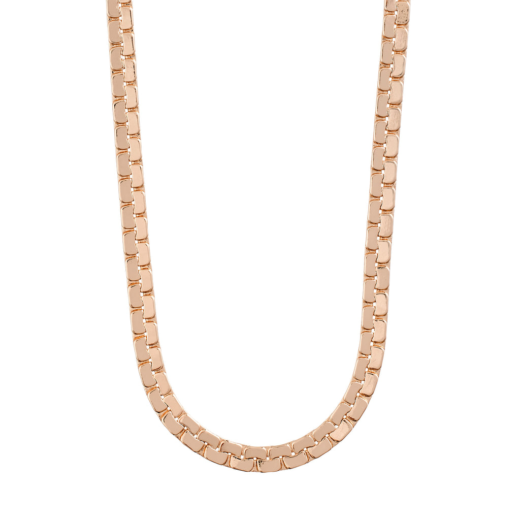 Necklace : Beauty : Rose Gold Plated
