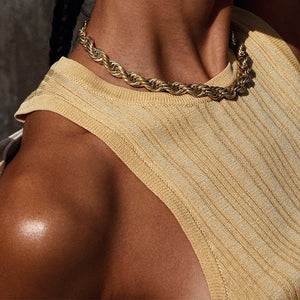 Necklace : Horizon : Gold Plated