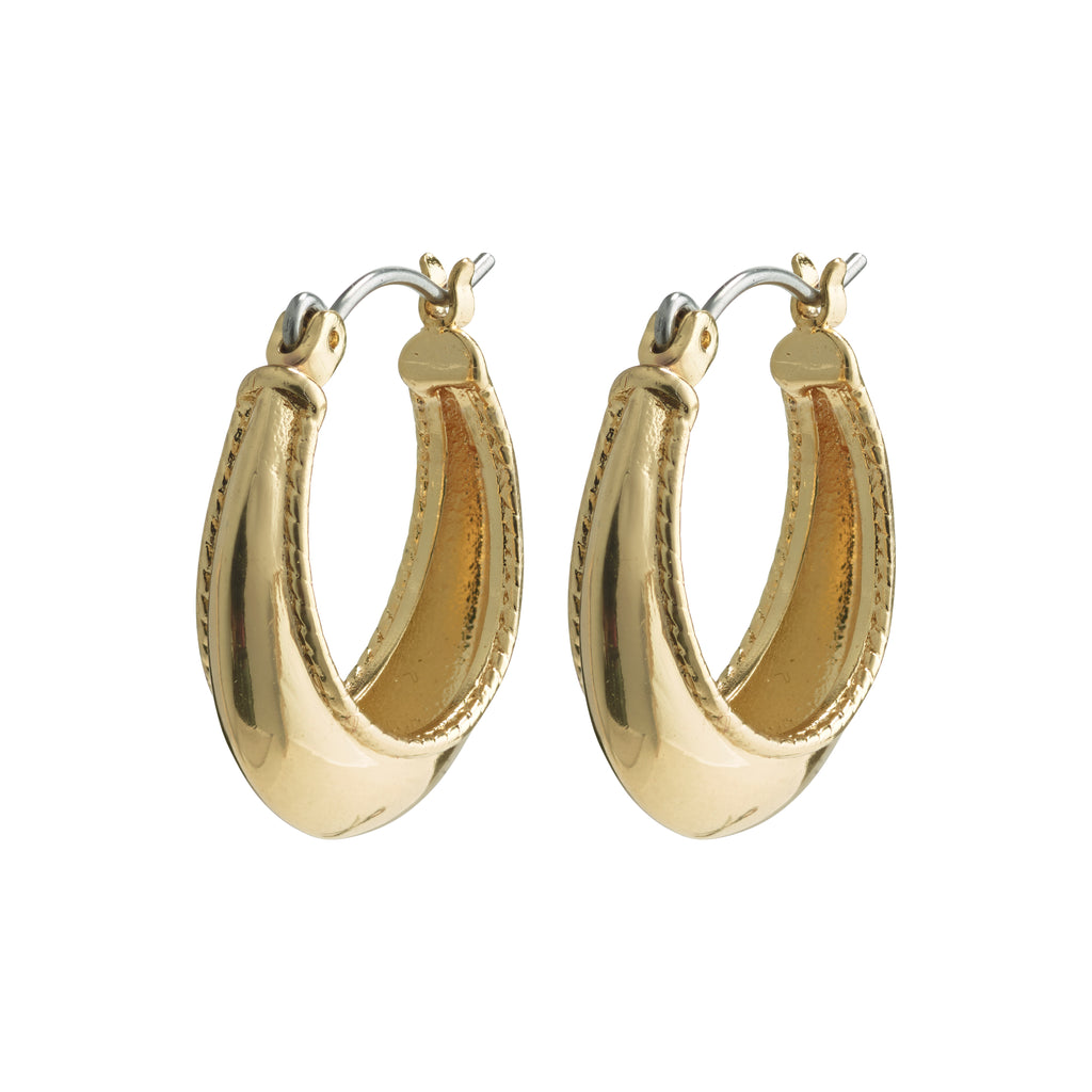 Earrings : Sabri : Gold Plated