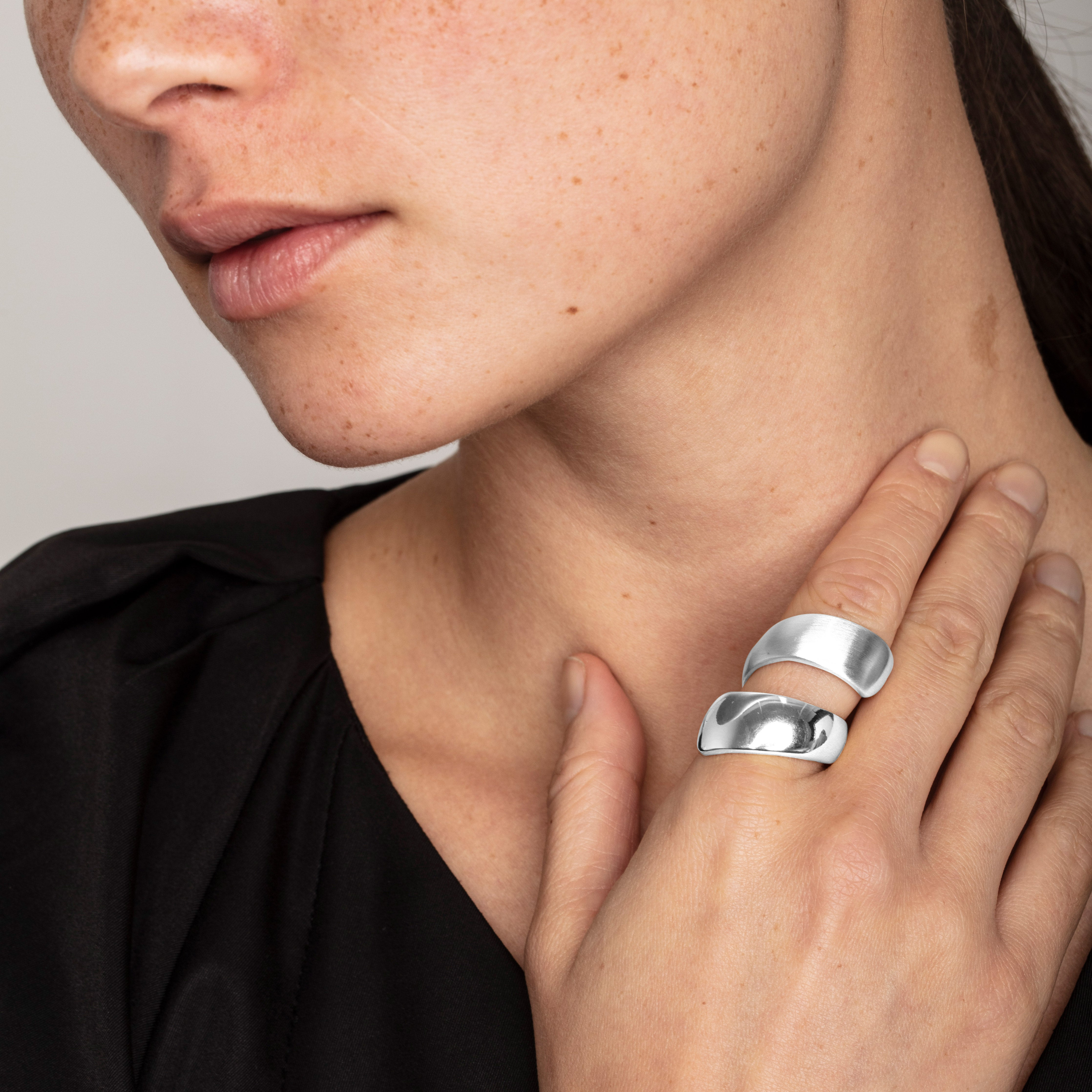 Ring : Alma : Silver Plated