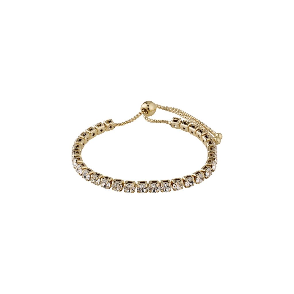 Bracelet : Lucia : Gold Plated : Crystal