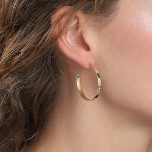 Earrings : Bella : Gold Plated
