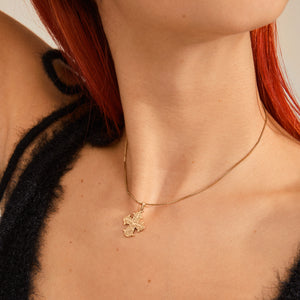 Necklace : Dagmar : Gold Plated