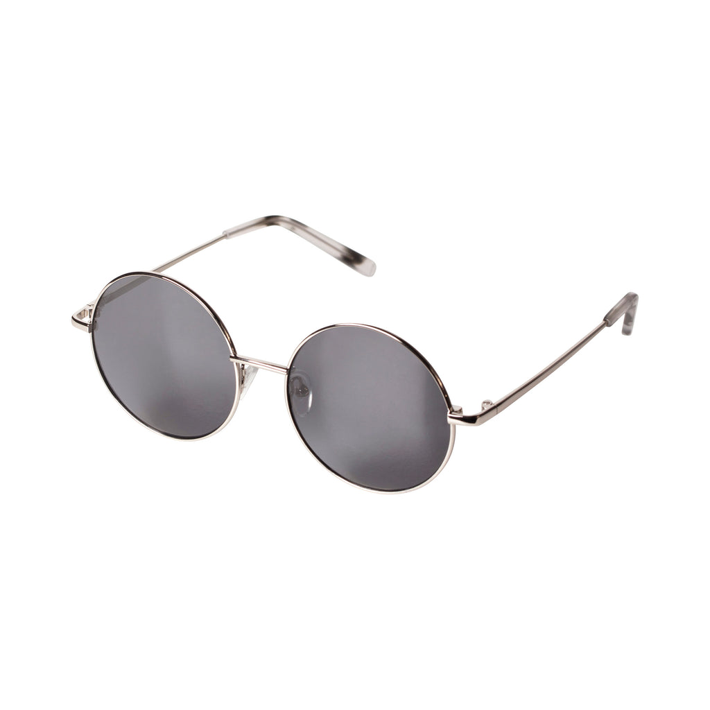 Sunglasses : Polly : Silver Plated : Grey