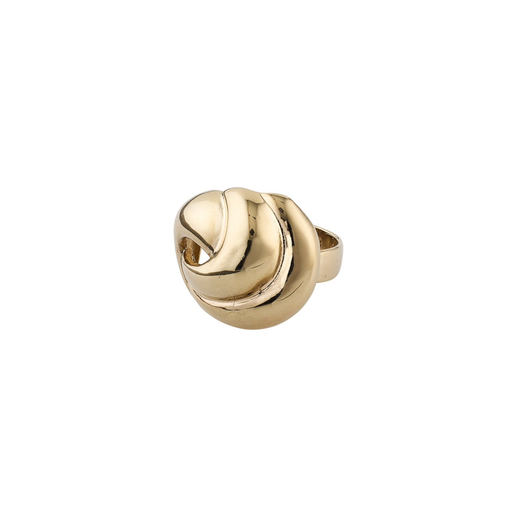Ring : Salena : Guldbelagt