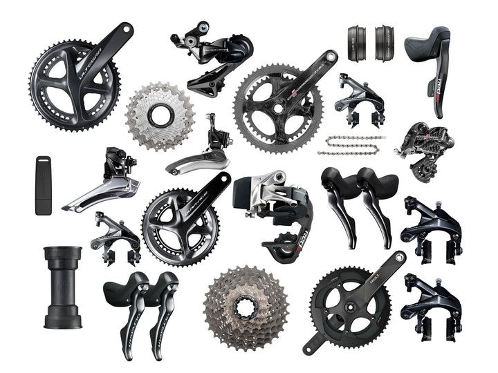 2018 Road Groupset Weight Comparison