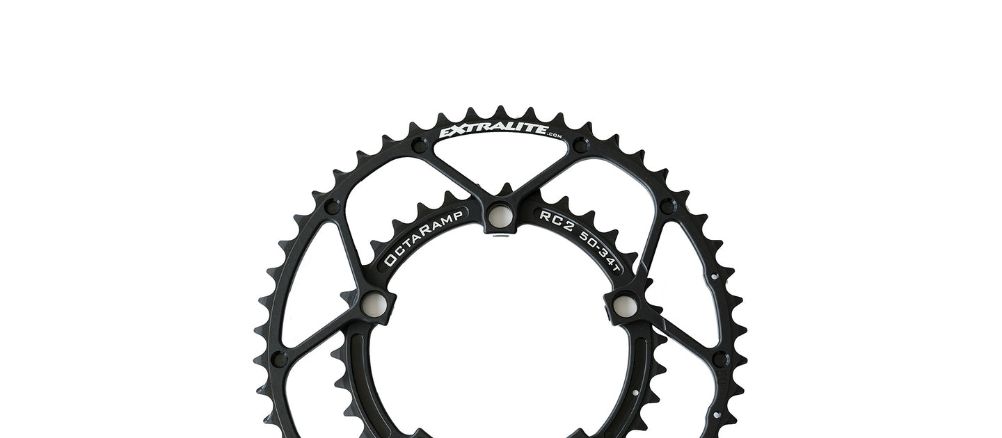 Extralite RC-2 Octaramp Chainring Weightweenie Compact