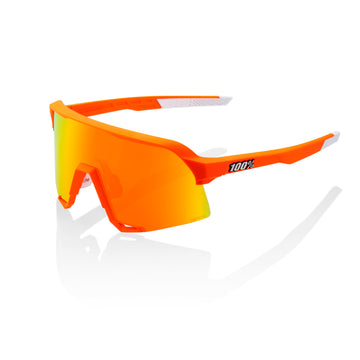 100% S3 Sunglasses - MVDP Limited Edition Neon Orange (HiPER Red) - CCACHE