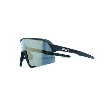 100% S3 Sunglasses - Soft Tact Black (Gold) - CCACHE