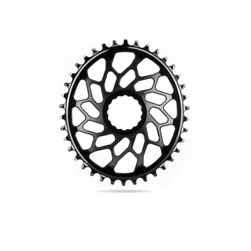 absoluteBLACK 1x Oval Direct Mount Chainring for Easton