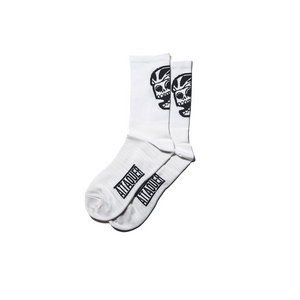 attaquer-big-skull-socks-white