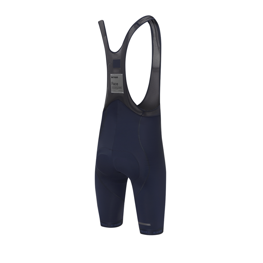 attaquer-race-bib-short-navy-reflective-logo-rear