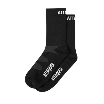 Attaquer Race Ultra+ Logo Socks - Black - CCACHE