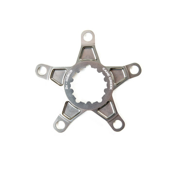 Cane Creek Crank Spider for eeWings - Titanium Grey Ano - CCACHE