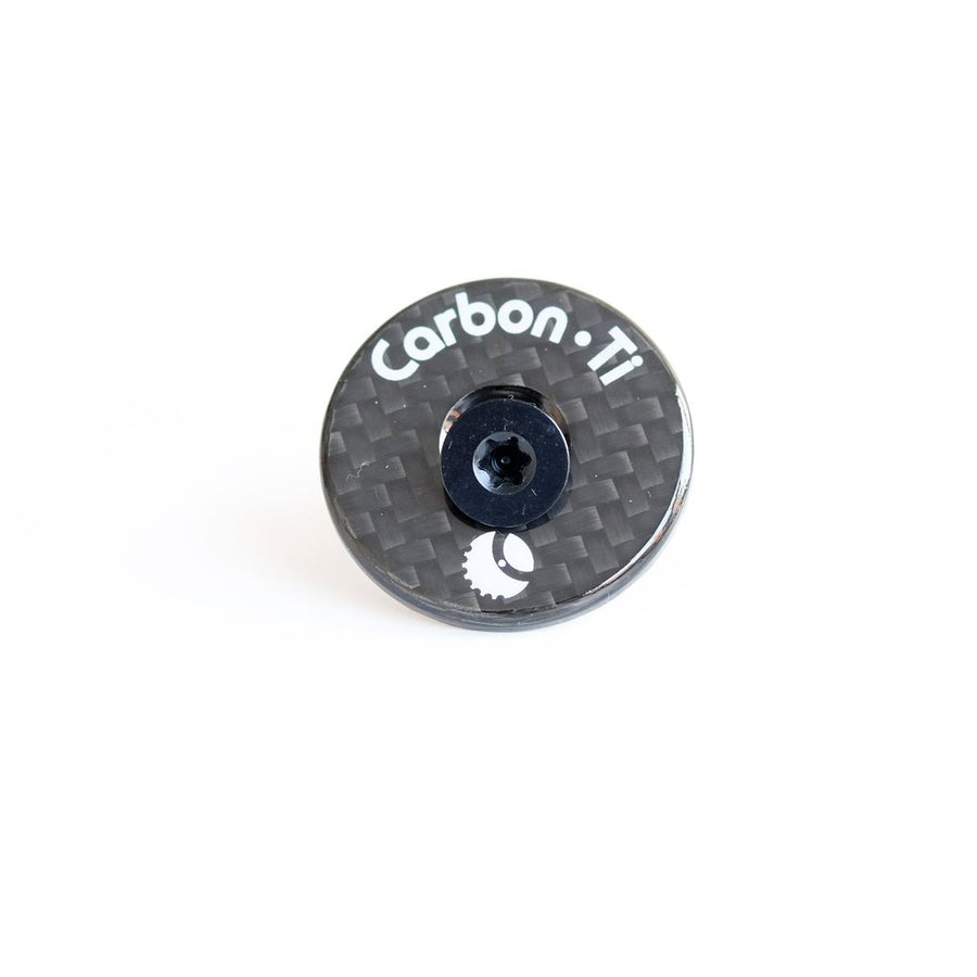 Carbon-Ti X-Cap Top Cap & Bolt - Gloss - CCACHE