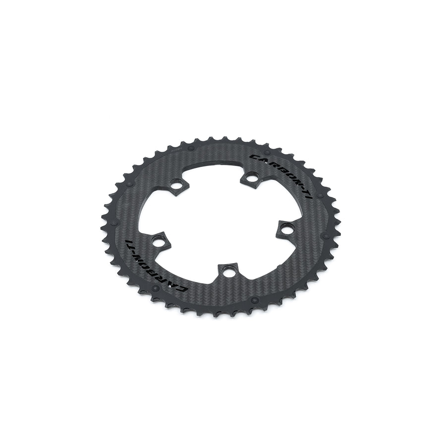 Carbon-Ti X-CarboRing X-AXS Chainrings (5-Arm) - CCACHE